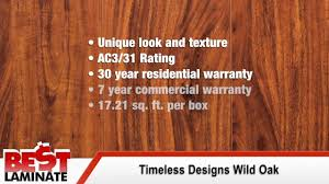 Ac3 Laminate Flooring Timeless Designs Wild Oak Handscraped 12mm Laminate Flooring Youtube