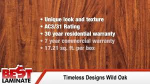Laminate Flooring Ac3 Timeless Designs Wild Oak Handscraped 12mm Laminate Flooring Youtube