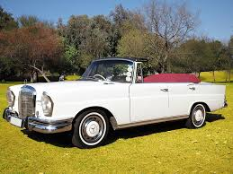 mercedes classic convertible 1964 mercedes convertible wedding wheels