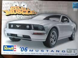 mustang gt model model kit review revell 2006 mustang gt 09 02 14