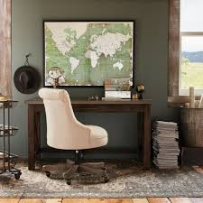 wood farmhouse desk world market