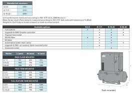air compressors 7 11 15kw