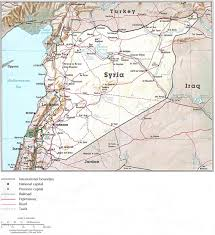 Homs Syria Map by Syria Map