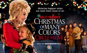 love at the thanksgiving day parade dolly parton u0027s christmas of many colors circle of love