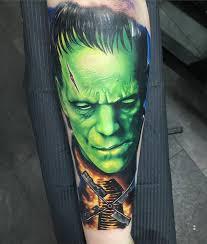 best forearm tattoos frankenstein forearm tattoo http tattooideas247 com frankenstein