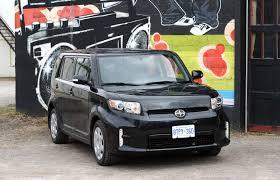 car review 2015 scion xb driving