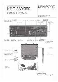 kenwood krc 390 service manual immediate download