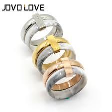 stainless steel wedding rings 2017 new designs special jade ring fashion stainless steel wedding
