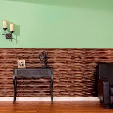 Wood Wall Paneling by Fasade Dunes Horizontal 96 In X 48 In Decorative Wall Panel In