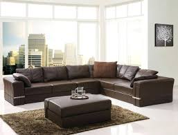 Sectional Sofas Sleepers Leather Sectional Sofa Sleepers Sectiona Recyner Chocoate Tabe Wa