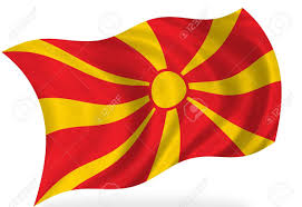 Flag Of Macedonia Macedonia Flag Isolated Stock Photo Picture And Royalty Free