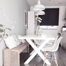 table pour la cuisine un banc dans la cuisine frenchy fancy