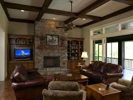 Craftsman Ceiling Fan by Family Room Ceiling Fan Family Room Craftsman With Tv Armoire