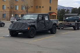 jeep truck spy photos spy photos jeep truck testing continues