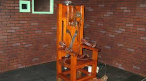 chaise lectrique états unis retour en grâce de la chaise électrique et des chambres