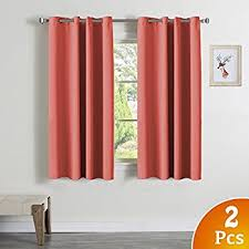 Thermal Energy Curtains 99 Blackout Curtains Energy Efficient Solid 2 Panels