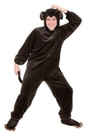Size 3x Halloween Costumes Monkey Halloween Costume Jungle Animal Brown Mens Womens