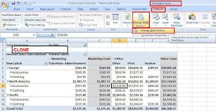 Excel 2010 Pivot Table How To Clone An Excel Pivottable U2013 Benny Austin
