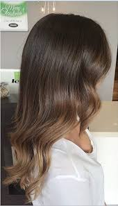 does hair look like ombre when highlights growing out a kiss of highlights on a naturally pretty brown base color by