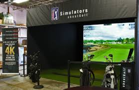 golf simulator home theater garden party spire integrated