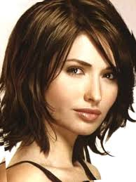 flattering the hairstyles for with chins medium length hairstyles for thick hair with side bangs hair