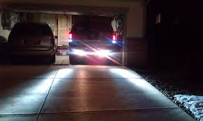 led backup light bar led reverse lights for a 09 titan nissan titan forum