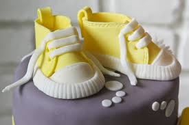 shoe cake topper baby shoes cake topper cakes bakes