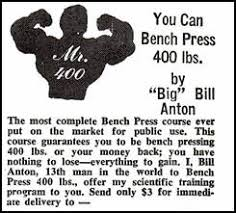 Bench Press Program Chart D B Weis My Story