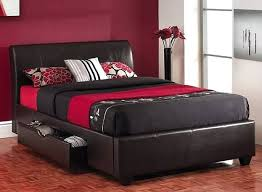 King Size Leather Bed Frame Faux Leather Headboard King Size Some Interesting Designs For King