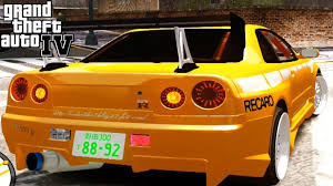 nissan skyline fast and furious gta gaming archive