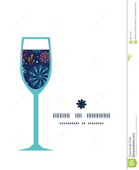 wine glass silhouette vector holiday fireworks wine glass silhouette stock vector