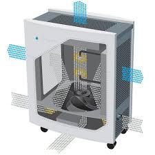 blueair 505 hepasilent air purifier sylvane unique filtration blueair 505 cutaway