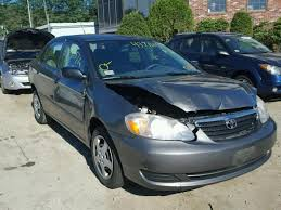 toyota corolla xrs 2008 salvage toyota corolla for sale at copart auto auction autobidmaster
