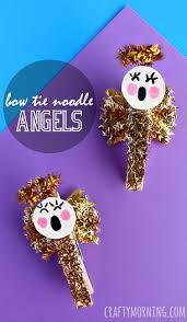 Nutcracker Crafts For Kids - bow tie noodle angel craft for kids crafty morning