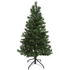 4ft christmas tree 6ft 5ft 4ft green artificial mixed pine christmas tree festive