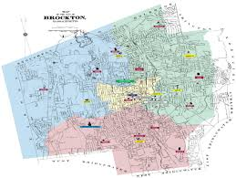 map all map of all schools brockton schools