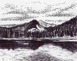 How To Draw Landscapes by Best 25 How To Draw Mountains Ideas On Pinterest Mountain