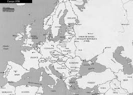 Cold War Europe Map by Study Map Europe 1938