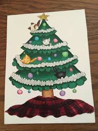 christmas card for a crazy cat lady by my7hicr4r3 on deviantart
