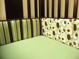 amazon com trend lab 4 piece crib bumper set gigi chocolate