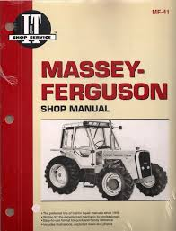 massey ferguson tractor workshop manual for m670 mf690 mf698