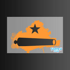 Come And Take It Flag Come And Take It Texas Revolution Flag Stencil