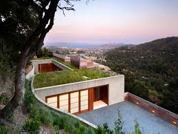 house plans with view modern hillside house plans small design home designs soiaya
