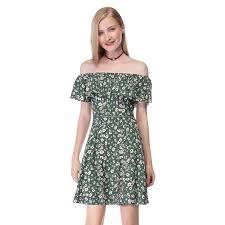 off shoulder 2017 summer beach short mini casual dresses 05656