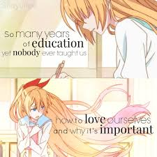 Quotes About Jobs You Love by Anime Nisekoi So Many Years Of Education Yet No One Ever Taught