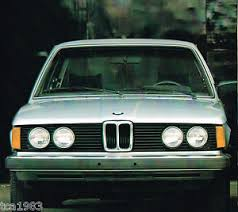 bmw 320i brochure 1979 bmw 320i 320 i dealer sales brochure catalog ebay
