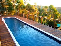 how to build a lap pool build an in ground lap pool cost incredible homes