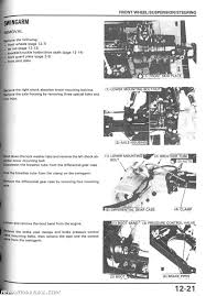 1986 1989 honda trx350 d fourtrax foreman atv repair manual