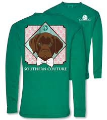 sc comfort preppy lab on long sleeve grass