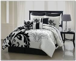 Damask Print Comforter Black Velvet Bedding Sets Bedding Queen